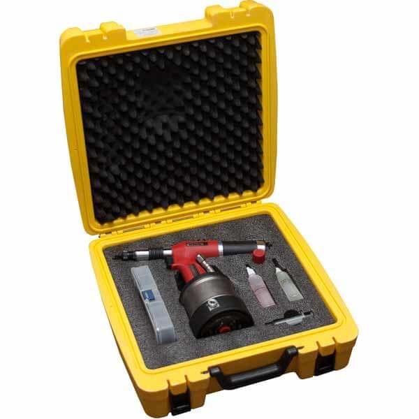 Заклепочник пневмогидравлический для резьбовых заклепок Kirk AR-N10 в кейсе купить в Москве